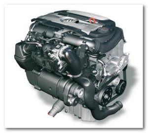 мотор VW Jetta