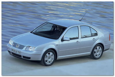 Volkswagen Bora 1998 года