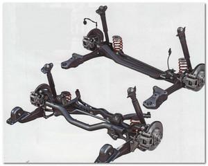 подвеска Volkswagen Jetta