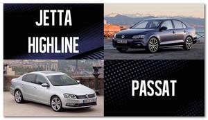 сравнение  VW  Jetta и Passat