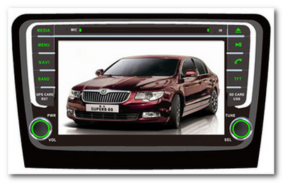 Pure Android SKODA Rapid
