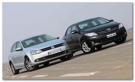 Toyota Corolla Altis vs Volkswagen Jetta