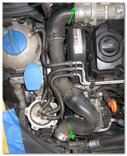 Замена ремня ГРМ VW Jetta (начало)