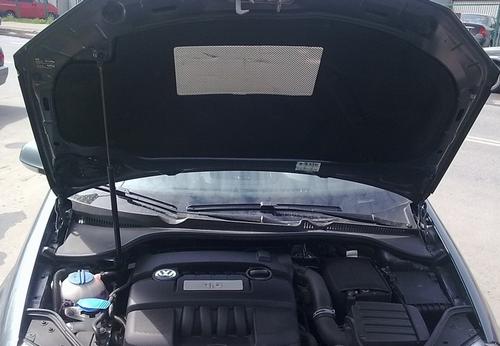 Шумоизоляция капота VW Jetta