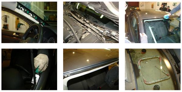 замена лобового стекла Volkswagen Jetta