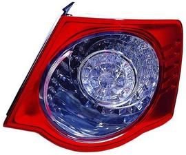 Задний внешний правый фонарь с led светодиодами для Фольксваген Джетта