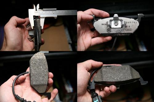Передние тормозные колодки для Фольксваген Джетта. Цена - 50 €