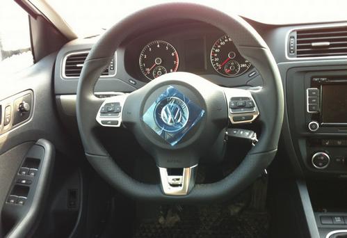 Мультируль R-line на VW Jetta