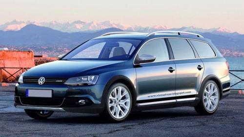 Универсал VW Jetta 2013 года