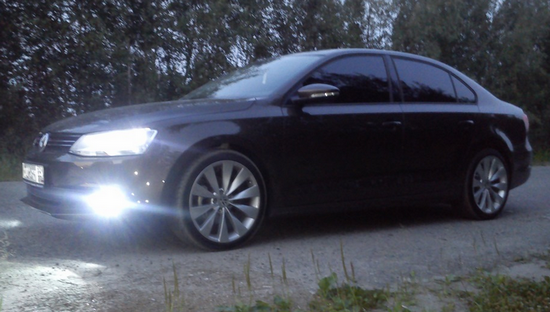 Ксенон на Volkswagen Jetta