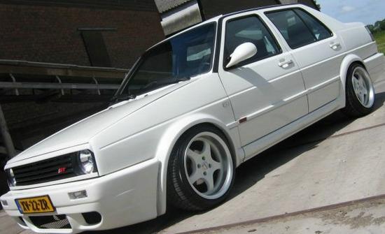 VW Jetta 1: тюнинг-версия