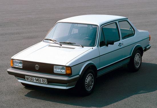 Первое поколение Volkswagen Jetta 1983 года выпуска