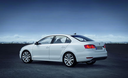 Европейская версия Volkswagen Jetta 2011 года