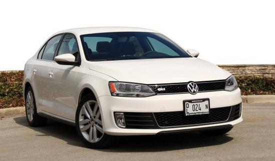 Volkswagen Jetta GLI 2014 года