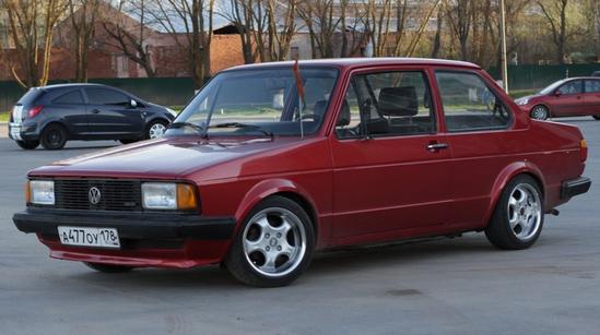 VW Jetta 1981 года выпуска